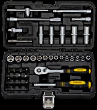 BERGER 043-14 Набор инструментов универсальный, 43 предмета