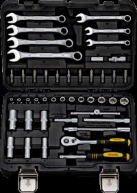 BERGER 045-14 Набор инструментов универсальный, 45 предметов