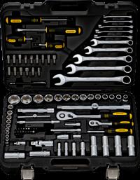 BERGER 095-1214 Набор инструментов универсальный, 95 предметов
