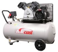 AIRCAST CБ4/C-100.LB30 компрессор поршневой с горизонтальным ресивером, 220/380В