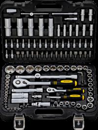 BERGER 108-1214 Набор инструментов универсальный, 108 предметов