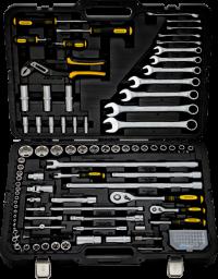BERGER 118-1214 Набор инструментов универсальный, 118 предметов