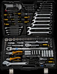 BERGER 141-1214 Набор инструментов универсальный, 141 предмет