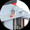 Launch TLT-240SC(S) L Подъемник с верхней синхронизацией, управление рычагом на колонне, 4,0 т