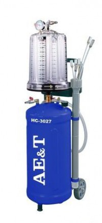 AE&T HC-3027 Установка для сбора масла с предкамерой пневматическая