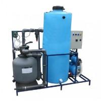 АРОС 5+К Система очистки воды на 4-6 моечных постов с дозирующим насосом