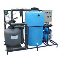 АРОС 2+К Система очистки воды на 2-3 моечных поста с дозирующим насосом