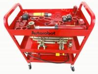 Autorobot 485A Ручной гидравлический набор, 30 предметов на тележке