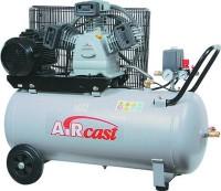AIRCAST CБ4/C-50.LB24 A Компрессор поршневой с горизонтальным ресивером, 220В