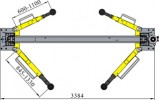 Ceegos BAM-4B Электрогидравлический подъемник с верхней синхронизацией 4.0 т
