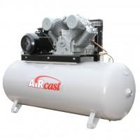 AIRCAST CБ4/Ф-500.LT100/16 Компрессор поршневой с горизонтальным ресивером, 380В