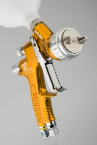 Краскопульт DeVilbiss GTi PRo Lite (голова TE10 (TransTech), сопло - 1.2, 1.3, 1.4 мм
