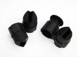 Комплект направляющих наконечников для пескоструйного пистолета Forsage HSB-I (4 шт.)