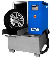 KART Wulkan 300H Автоматическая мойка колес гранулами с подогревом воды