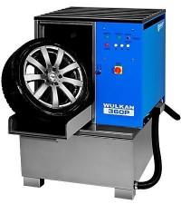 KART Wulkan 360P Автоматическая мойка колес гранулами со стабилизатором колеса