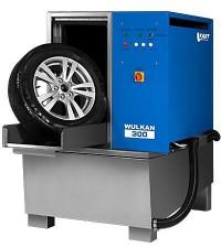 KART Wulkan 300 Автоматическая мойка колес гранулами