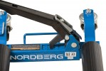NORDBERG N3S1 Домкрат механический подкатной для перемещения авто, 560 кг