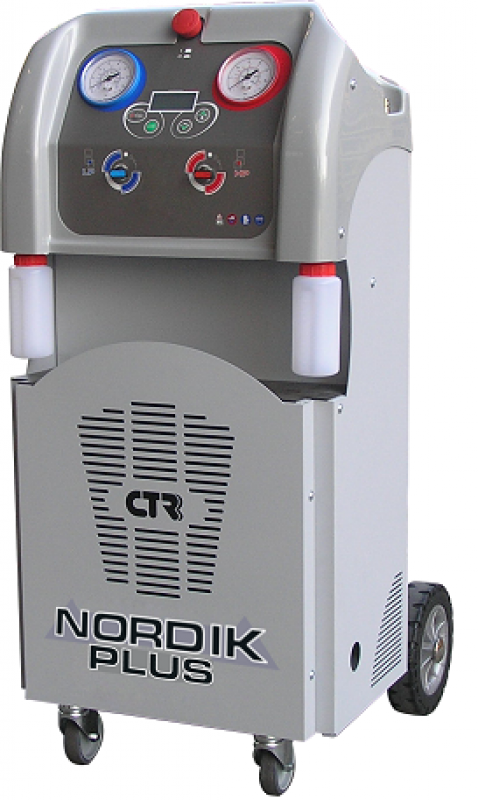 Автоматическая установка для заправки автокондиционеров
