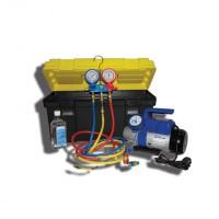 SMC-041-1 NEW Установка для заправки кондиционеров с одноступенчатой помпой