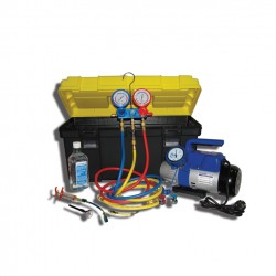 SMC-041-2+ NEW Установка для заправки кондиционеров с одноступенчатой помпой