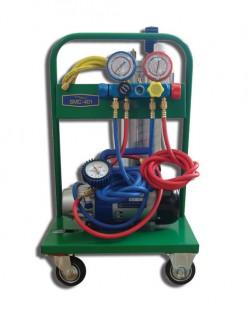 SMC-401-1C Установка для заправки кондиционеров с одноступенчатой помпой