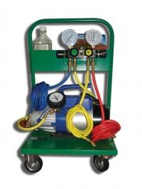 SMC-402-1 Установка для заправки кондиционеров с двухступенчатой помпой