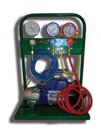 SMC-Эконом NEW Установка для заправки кондиционеров с одноступенчатой помпой