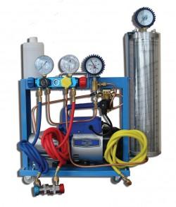 SMC 402-1C Compact Установка для кондиционеров с двухступенчатой помпой