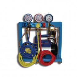 SMC 401-1 Compact Установка для кондиционеров с одноступенчатой помпой