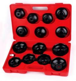 WiederKraft WDK-81245 Набор чашек для съема масляных фильтров в кейсе