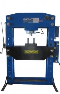 AE&T T612100A Пресс напольный гидравлический, 100 т, с пневмоприводом