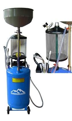 Trommelberg UZM80 Установка для сбора масла пневматическая мобильная