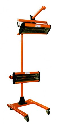 WiederKraft WDK-2A инфракрасная сушка мобильная, на стойке