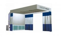 WiederKraft WDK-500 Зона подготовки автомобиля к покраске