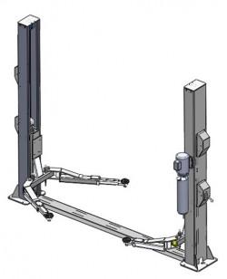WiederKraft WDK-522 Подъемник с нижней синхронизацией, 4,0 т