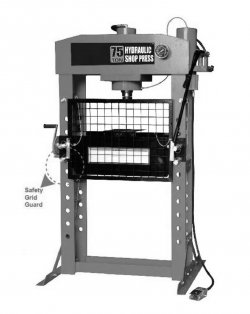 WiederKraft WDK-80175 Пресс напольный пневмогидравлический, 75 т