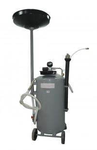 WDK-89270 Установка для сбора масла пневматическая мобильная WiederKraft