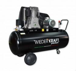 WiederKraft WDK-92712 компрессор поршневой с горизонтальным ресивером, 380В