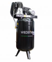 WiederKraft WDK-92760 компрессор поршневой с вертикальным ресивером, 380В