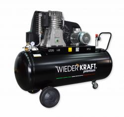 WiederKraft WDK-92765 компрессор поршневой с горизонтальным ресивером, 380В