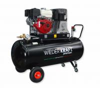 WiederKraft WDK-92768 компрессор поршневой с бензиновым двигателем, 380В