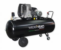WiederKraft WDK-95079 компрессор поршневой с горизонтальным ресивером, 380В