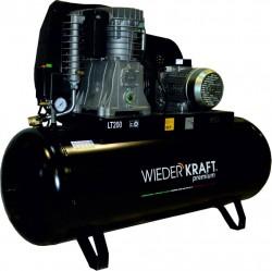 WiederKraft WDK-92060 компрессор поршневой с горизонтальным ресивером, 380В