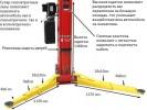 Atis А235CM (PEAK 208C) Подъемник с верхней синхронизацией, 3,5 т