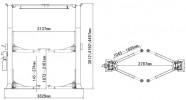 Atis A268CHM (PEAK 215CH) Подъемник с верхней синхронизацией, 6,8 т