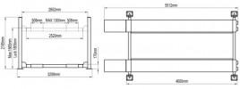 Atis A440 (PEAK 409) Подъемник четырехстоечый для слесарных работ, 4 т