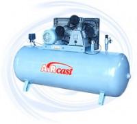 AIRCAST CБ4/C-100.LB75 компрессор поршневой с горизонтальным ресивером, 380В
