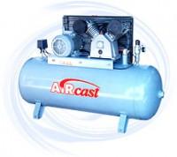 AIRCAST CБ4/C-100.LB50 компрессор поршневой с горизонтальным ресивером, 380В