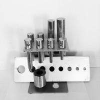 WiederKraft WDK-80008 Набор оправок для выпрессовки сайлентблоков