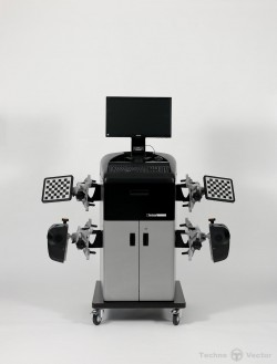 Техно Вектор 6 FREE MOTION стенд развал схождения с технологией 3D